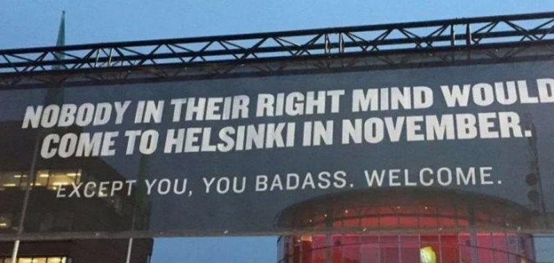 У финнов есть чувство юмора:   в мире, жизнь, идея, финляндия, это гениально