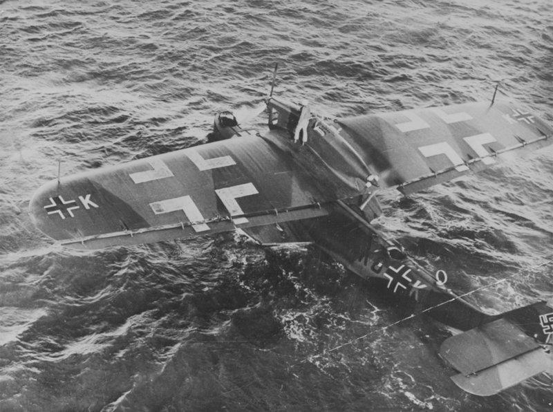 13. Летающая лодка Do.18 война, война в воздухе, война в небе, вторая мировая война, исторические фото, первая мировая война