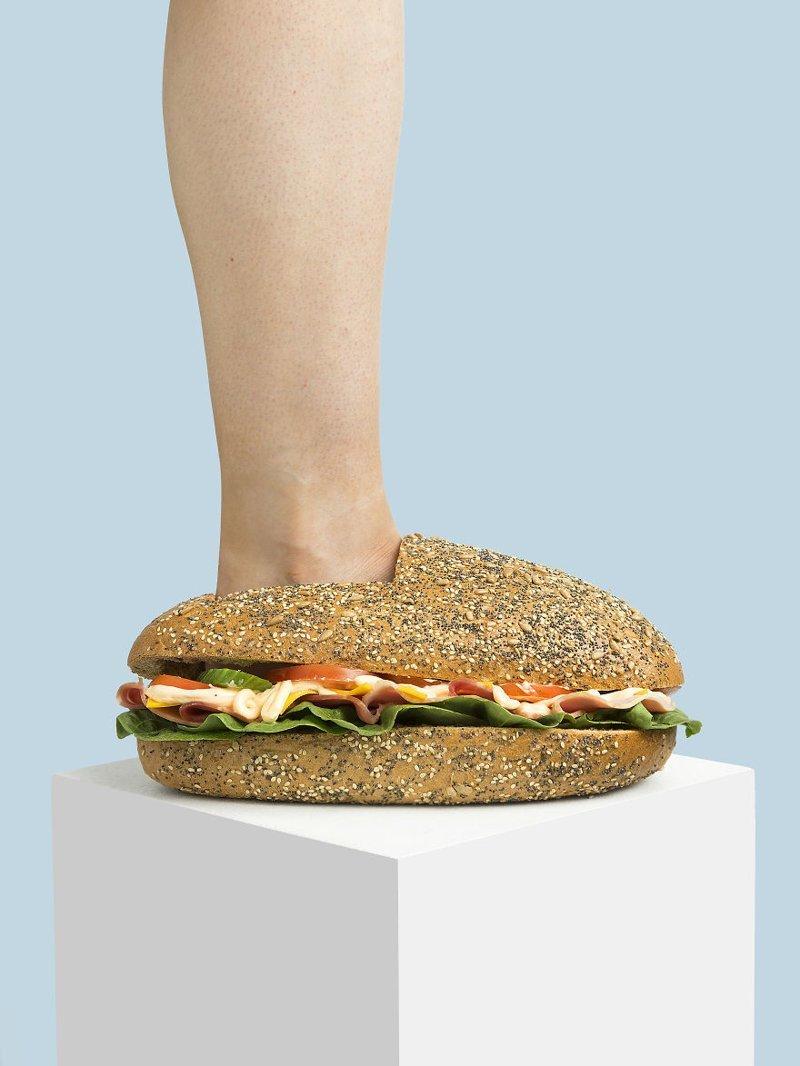 30. Сэндвич art, дизайн, забавно, идеи, концепции, обувь, приколы, фотограф