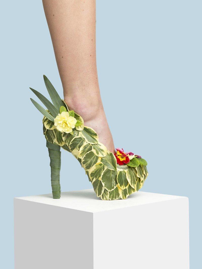 1. Летний сад art, дизайн, забавно, идеи, концепции, обувь, приколы, фотограф