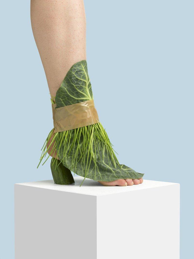 23. Капуста art, дизайн, забавно, идеи, концепции, обувь, приколы, фотограф
