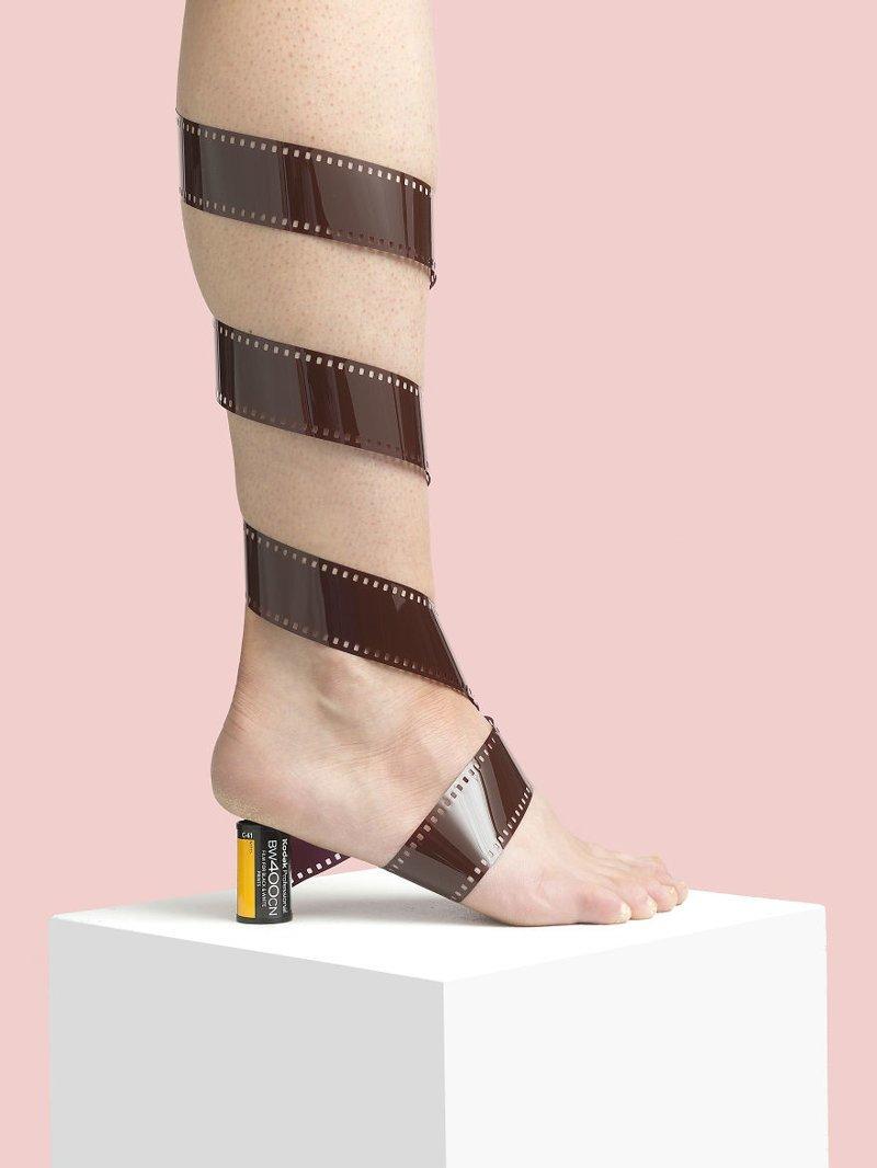 18. 35 мм art, дизайн, забавно, идеи, концепции, обувь, приколы, фотограф