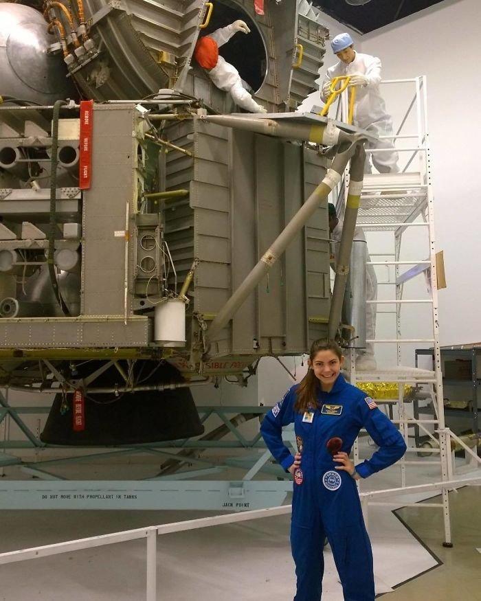 Несмотря на юный возраст Алиссы, НАСА готовит ее к профессии астранавта nasa, Марс Космос, астронавтка, космос, марс, миссия, сша, центр подготовки космонавтов
