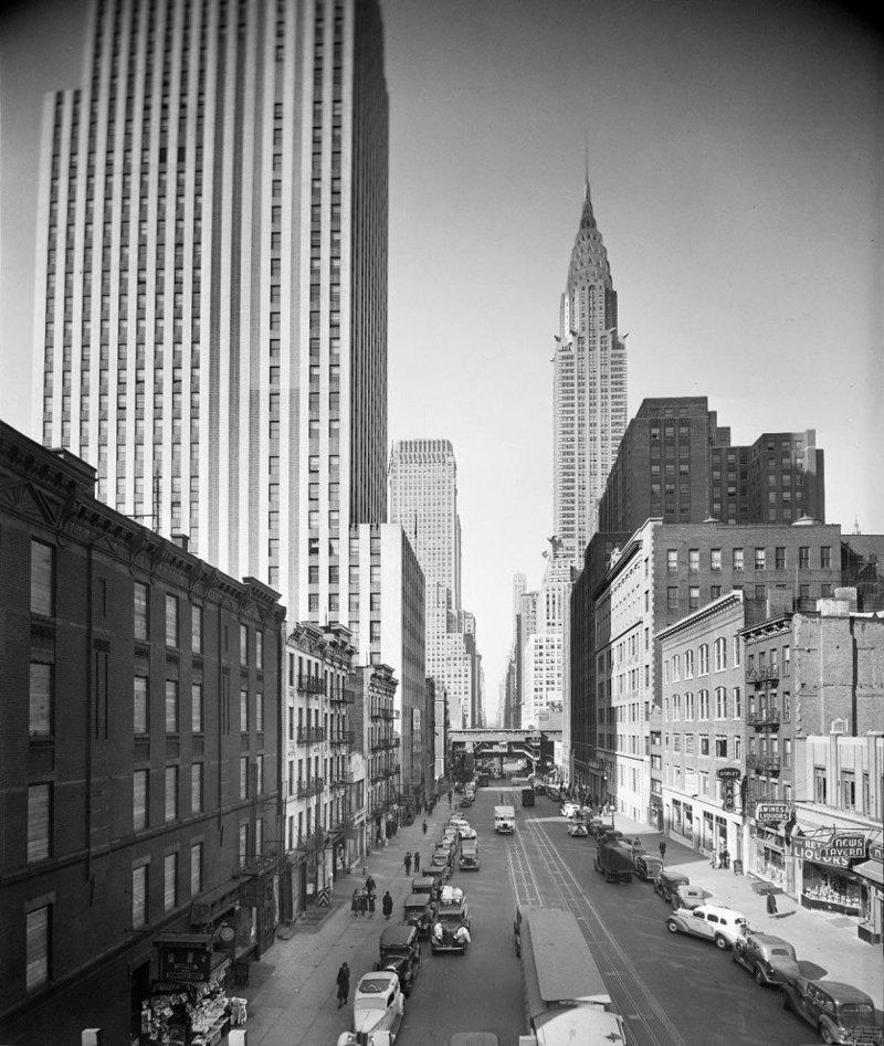 Старый Нью-Йорк город, нью-йорк, сша