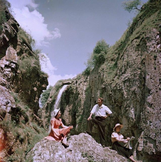 Цветные фотографии времен СССР СССР, снимки, цветные