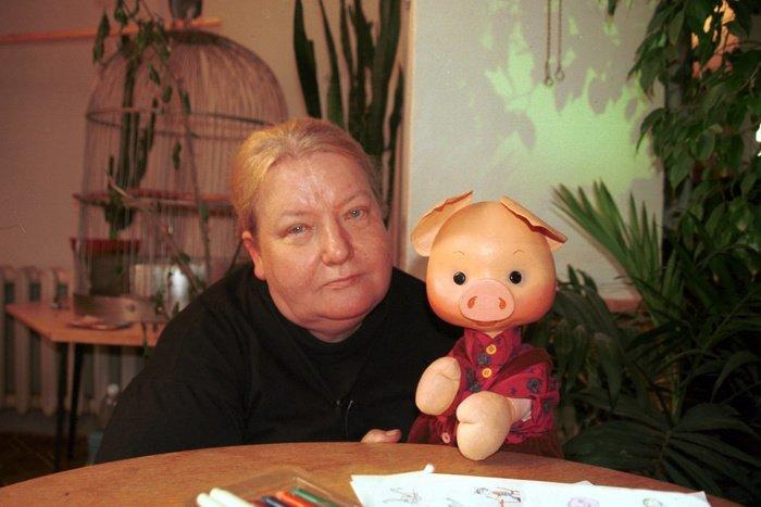 НАТАЛЬЯ ДЕРЖАВИНА (1942-2002) актёры, куклы, театр, факты