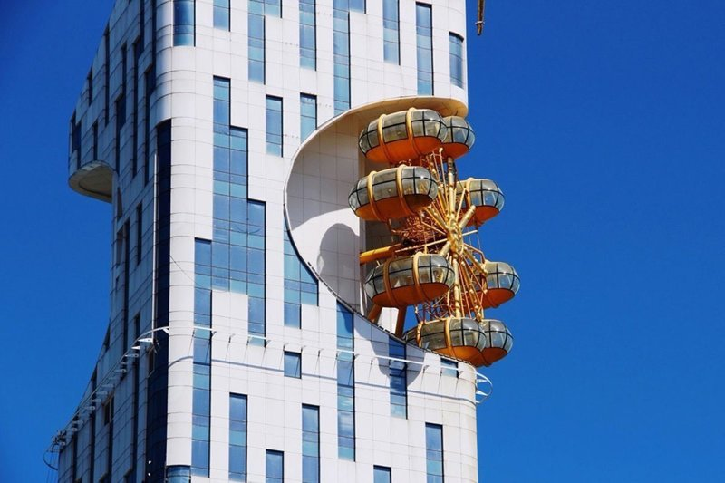 Онанизм Batumi Tower, Давид Гогичаишвили, архитектор, грузия, небоскреб