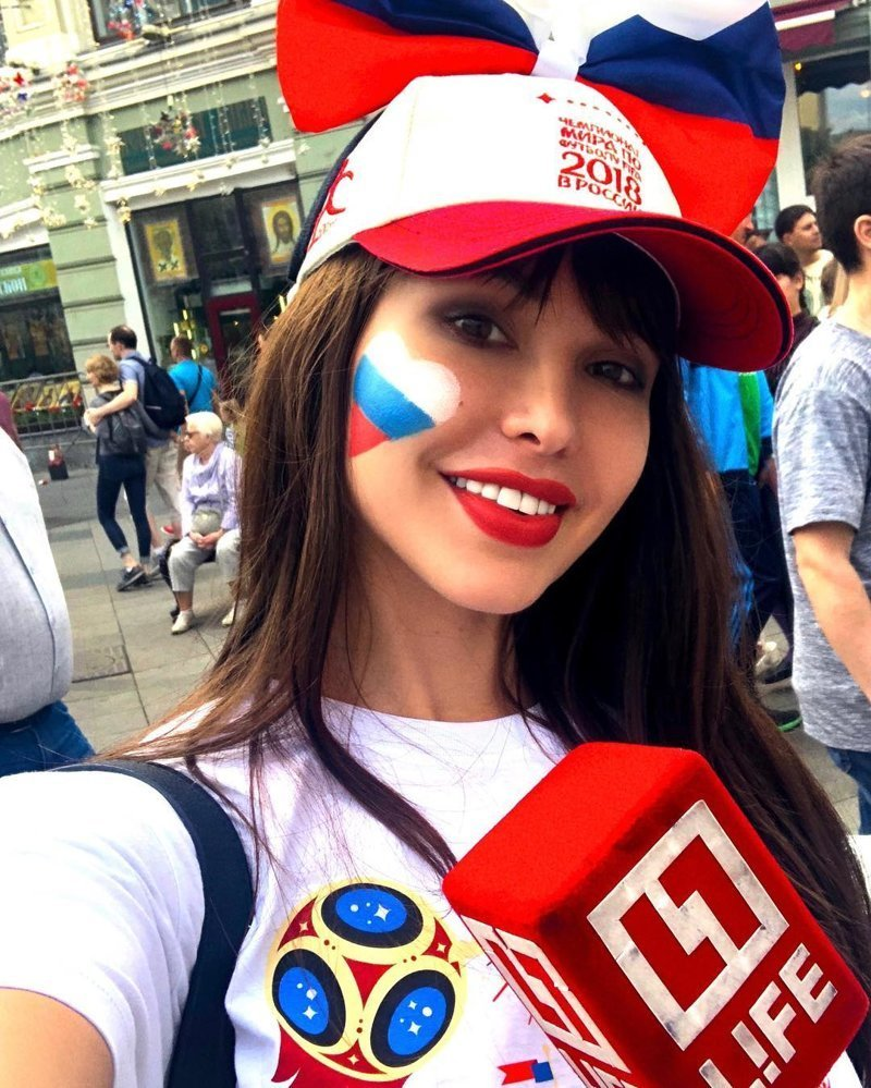 Как Маша сделала Наташу: в России появилась новая горячая болельщица футбола Instagram, liman_maria, девушки, красота, модель, мундиаль, чм2018
