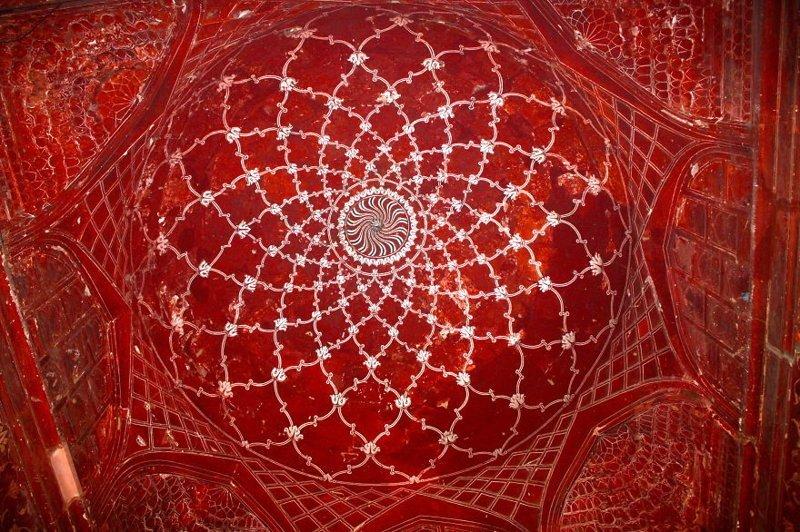 Потолок мечети Тадж-Махал архитектура, история, красота, факты