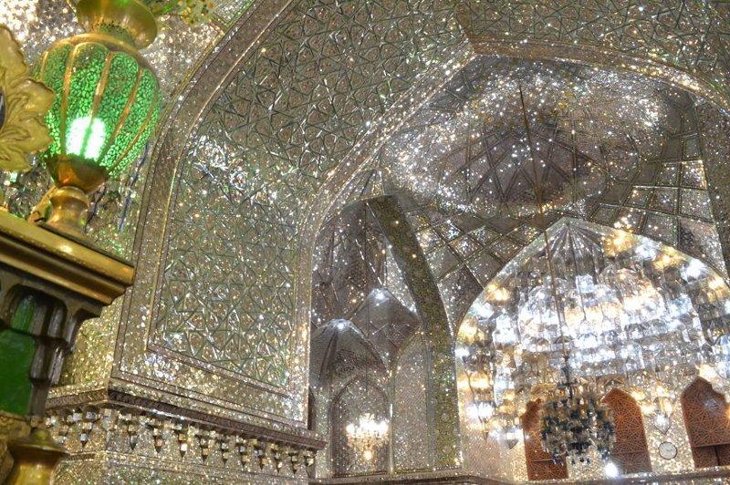 Мавзолей Али ибн Хамзех (Зеркальная Мечеть), Шираз, Иран архитектура, история, красота, факты