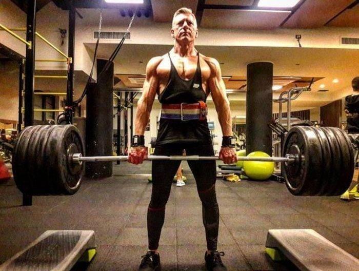 Не только внешний вид, но и мышечная сила бодибилдер, внешность, качок, отец, спорт, сын