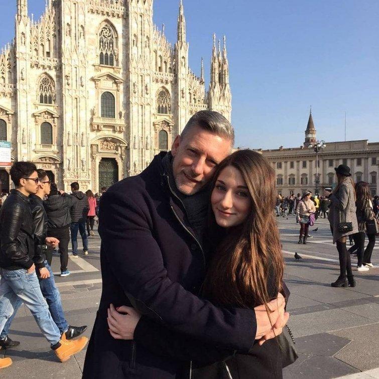 Помимо сына, у Роберто также есть красавица дочь бодибилдер, внешность, качок, отец, спорт, сын