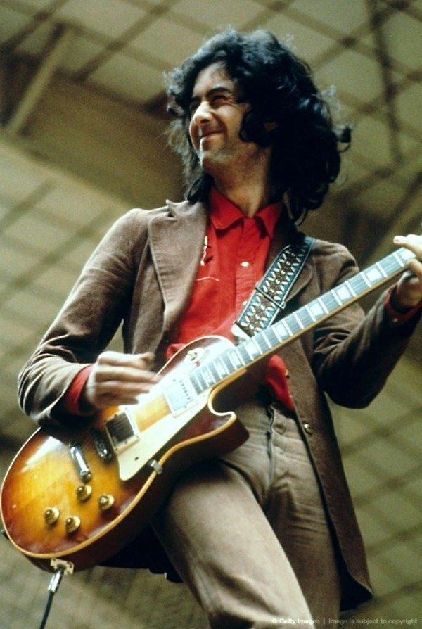 Led Zeppelin: Джимми Пейдж на сцене. Led Zeppelin, Джимми Пейдж, Музыка 20 века