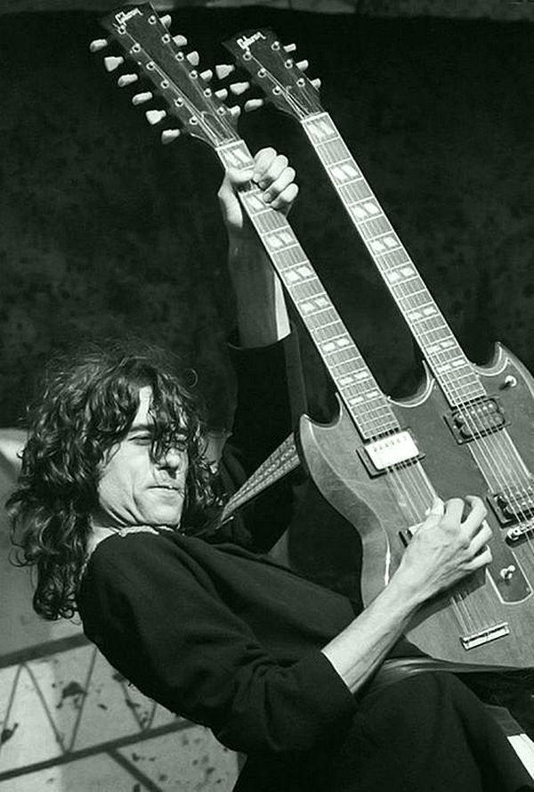 Джимми Пейдж в действии. Led Zeppelin, Джимми Пейдж, Музыка 20 века