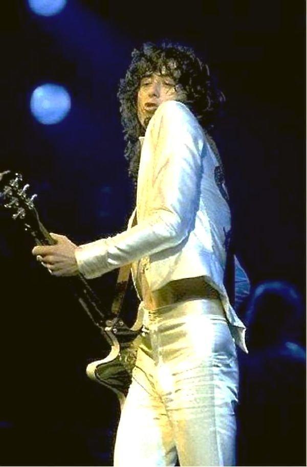 Джимми Пейдж на сцене. Led Zeppelin, Джимми Пейдж, Музыка 20 века