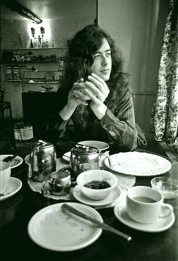 Завтрак с Джимми Пейджем Led Zeppelin, Джимми Пейдж, Музыка 20 века