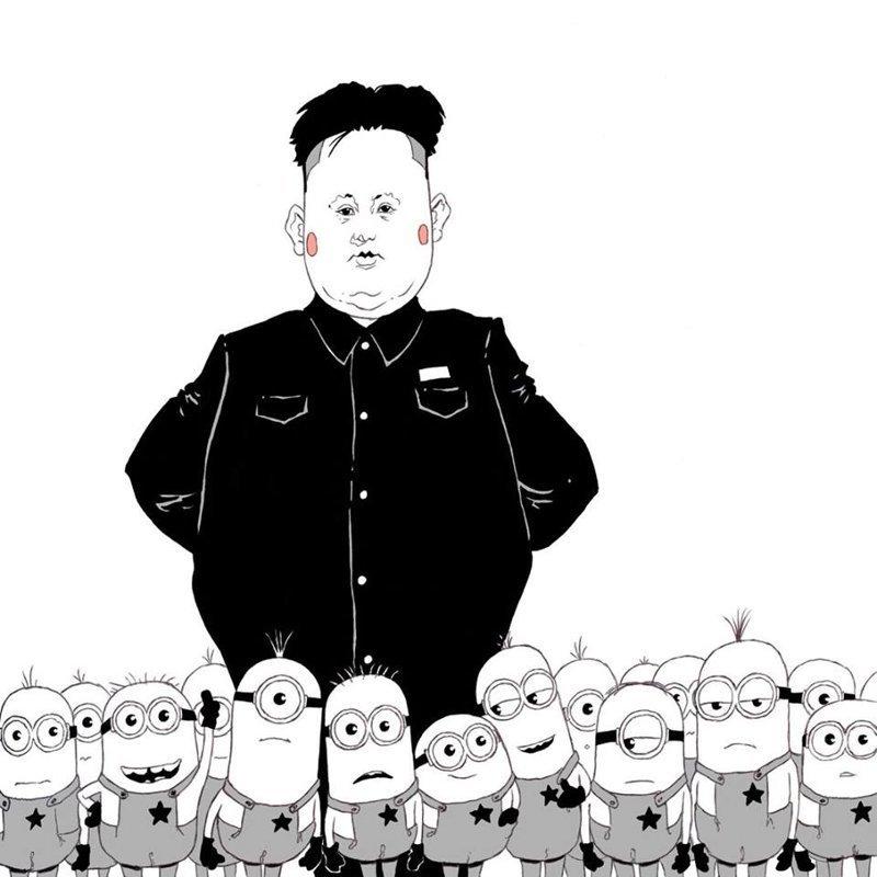 4. Luis Quiles, жестокая правда, иллюстрации, рисунки, треш, художник