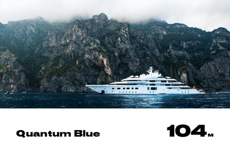 9. Quantum Blue forbes, богатство, миллиардер, рейтинг, роскошная жизнь, россия, яхта