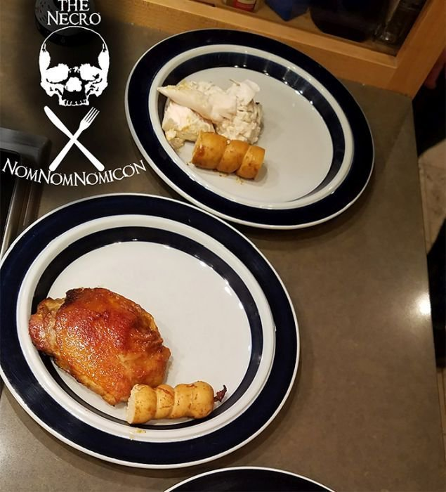 """Запеченный """"чужой"""" на День благодарения еда, пирог, пища, чужой"""
