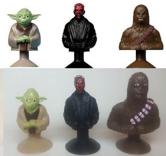 Фигурки героев Звёздных войн. По их глазам понятно, что они видели нечто ужасное ожидание и реальность, прикол, юмор
