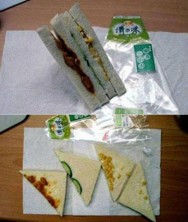 Очень питательный сэндвич ожидание и реальность, прикол, юмор