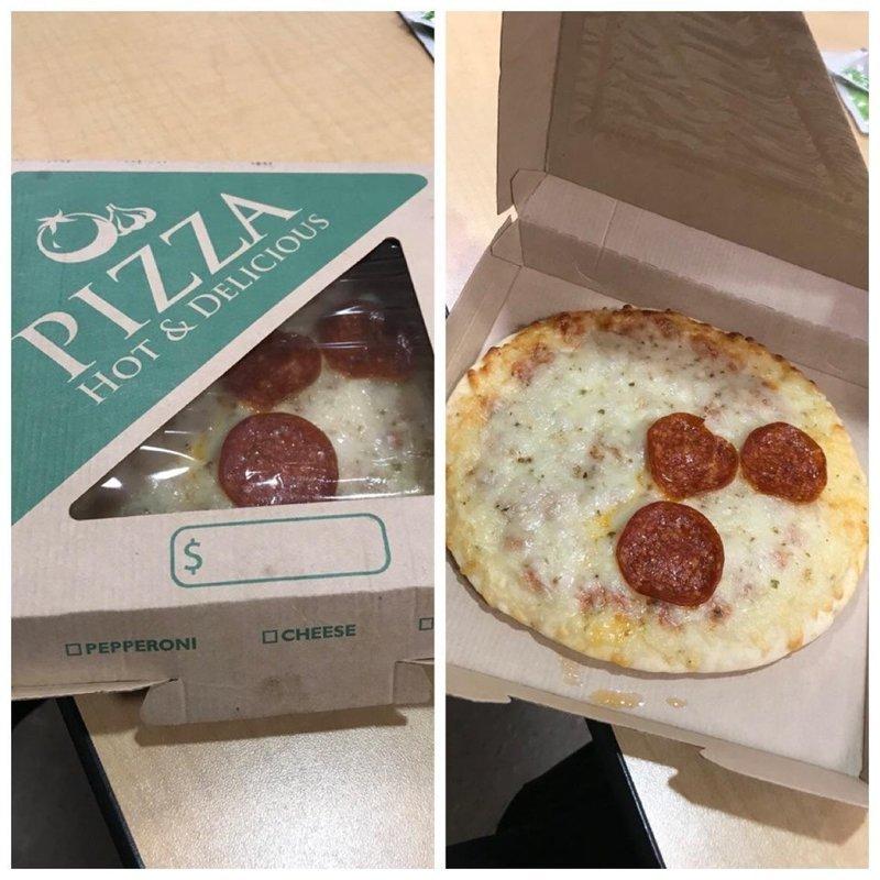 Очень экономная пиццерия ожидание и реальность, прикол, юмор