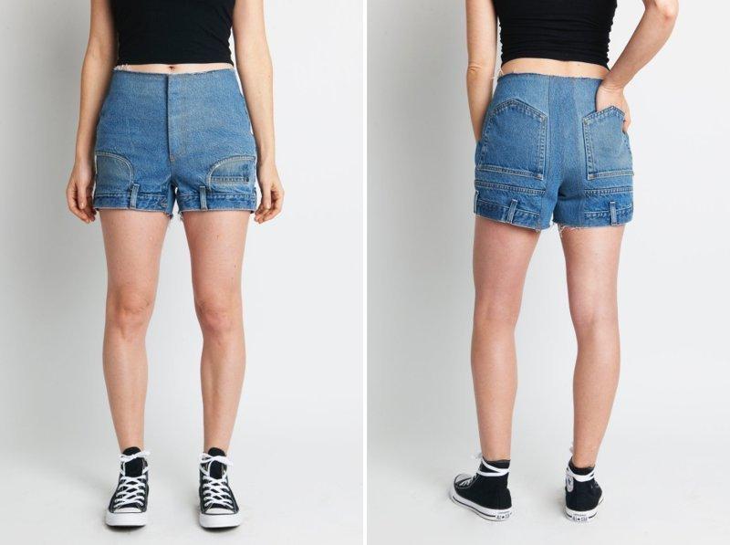 Эти джинсы стоят $500. И люди действительно их покупают! джинсы, истории, мода, перевёрнутые джинсы