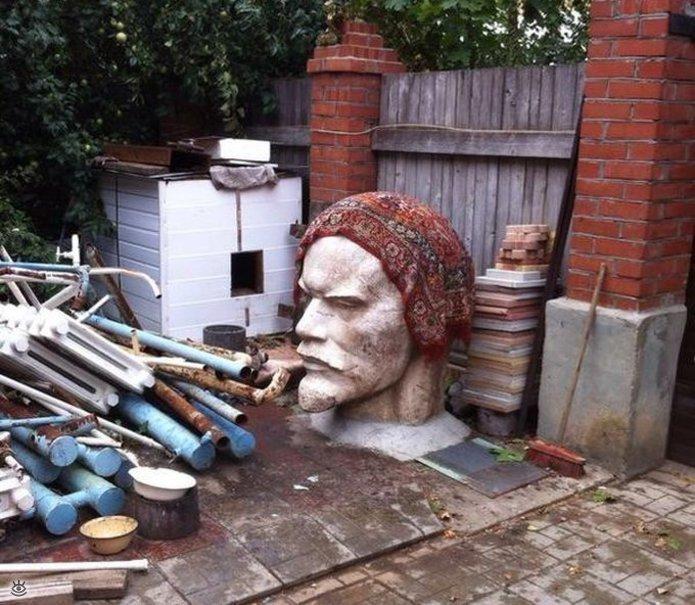 Креативненько жить в россии, коммунизм, память, прошлое, символика