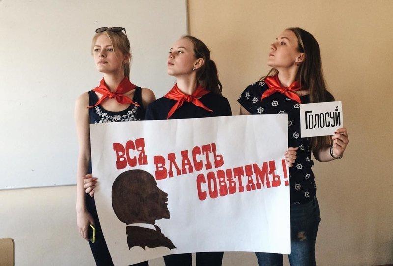 Коммунизм жил, жив и будет жить жить в россии, коммунизм, память, прошлое, символика