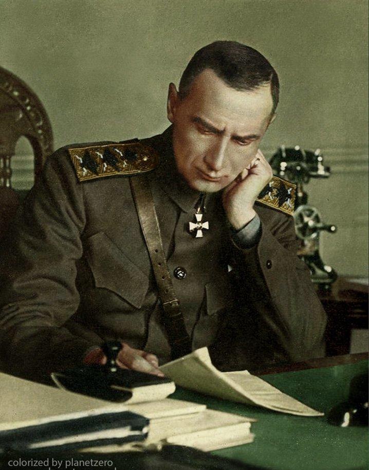 Адмирал Колчак colorized by planetzero, planetzerocolor, колоризация, цветные фотографии начала 20 века