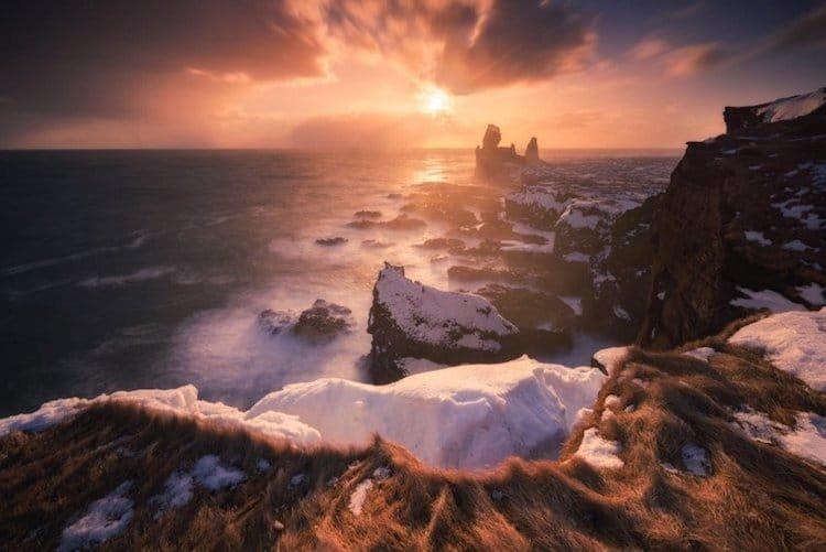Морское побережье Исландии исландия, красота, пейзажи, природа, путешествия, туризм, фотография, фоторепортаж