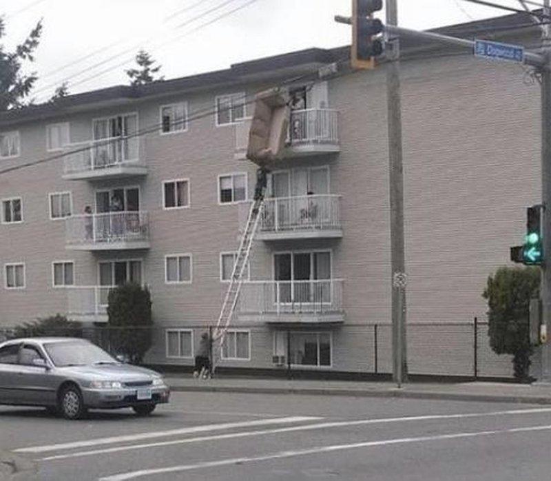 И снова эти лестницы… мужчины, опасность моё второе имя, прикол, юмор