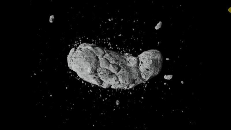 Как  выглядит большинство астероидов астероиды, интересное, космос, наука, факты