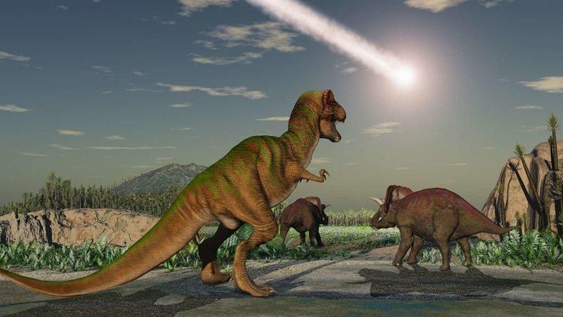 Почему астероид не мог убить динозавров астероиды, интересное, космос, наука, факты