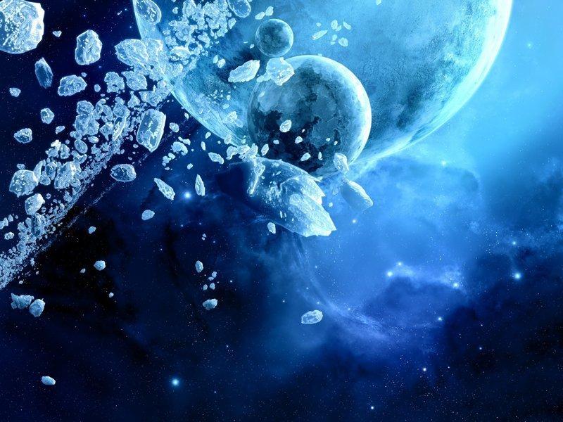 Хотя на нескольких астеродидах был обнаружен слой льда, а также русла от воды астероиды, интересное, космос, наука, факты