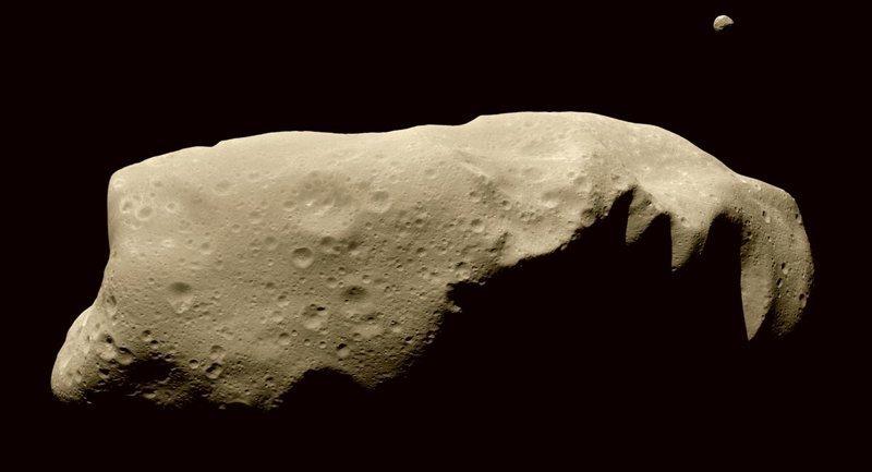 Есть ли у астероидов спутники астероиды, интересное, космос, наука, факты