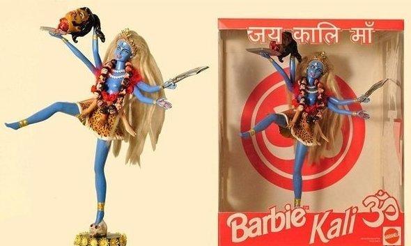 Немного индуизма в ленту barbie, барби, игрушка, игрушки, прикол, щетина