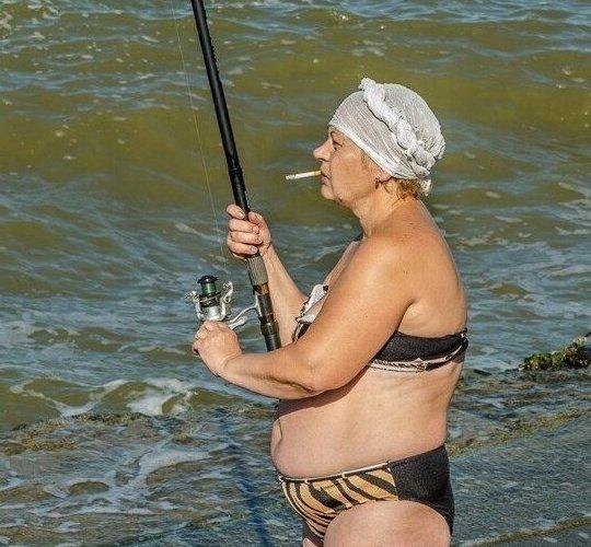 2. Ох, хорошо! Особенности национальной рыбалки, видео, клюет, рыба, рыбалка, фото, юмор