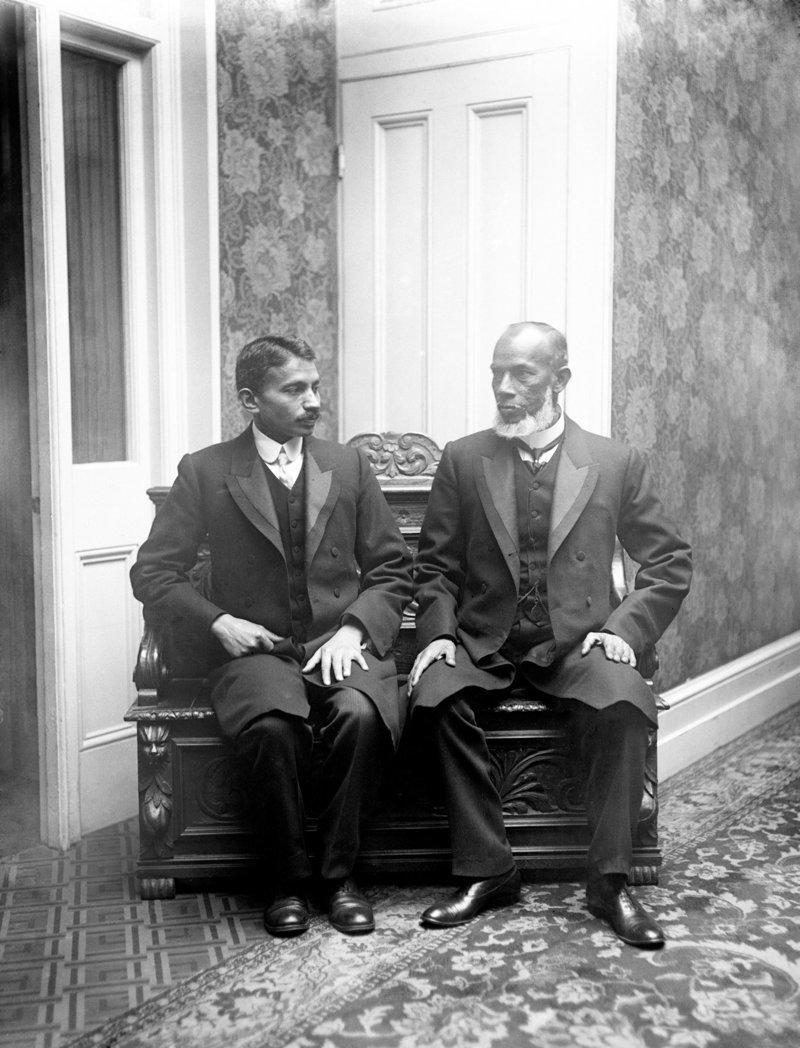 Махатма Ганди в ЮАР, 1900-е  индия, интересное, история, личность, прошлое, событие, фотография, фотомир