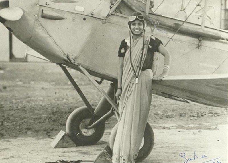 Шарла Такрал - первая женщина в Индии, получившая лицензию пилота индия, интересное, история, личность, прошлое, событие, фотография, фотомир