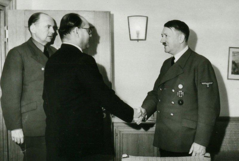 Встреча Субхаса Чандры Боса с Гитлером в Берлине  индия, интересное, история, личность, прошлое, событие, фотография, фотомир