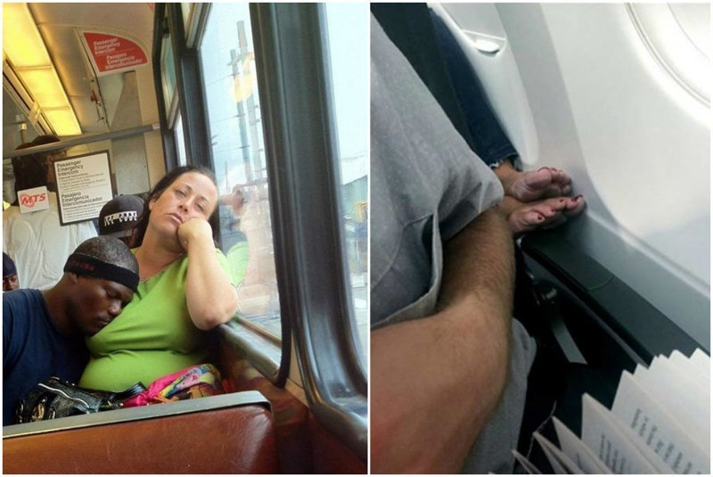 Люди, которых вы не хотели бы встретить в транспорте люди, отвратительные люди, плохие люди, транспорт, ужас, фото, фу такими быть