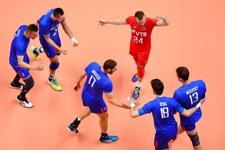 Сборная России – первый победитель Лиги наций волейбол, лига, россия
