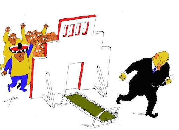 Лапочка Ильича бесэдер, карикатуры, мировые новости, новости, рисунки, юмор