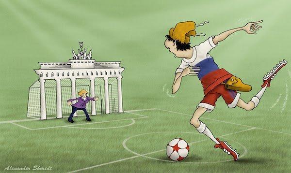 Наступать есть куда, позади Москва бесэдер, карикатуры, мировые новости, новости, рисунки, юмор