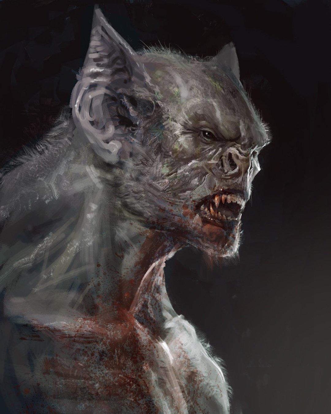 Картинки страшных монстров