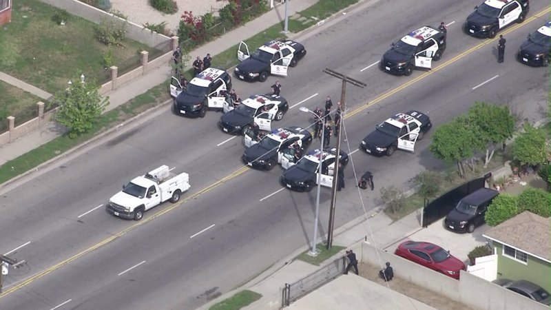 Идиоты на американских дорогах америка, погони, полицейские погони, полиция, сша