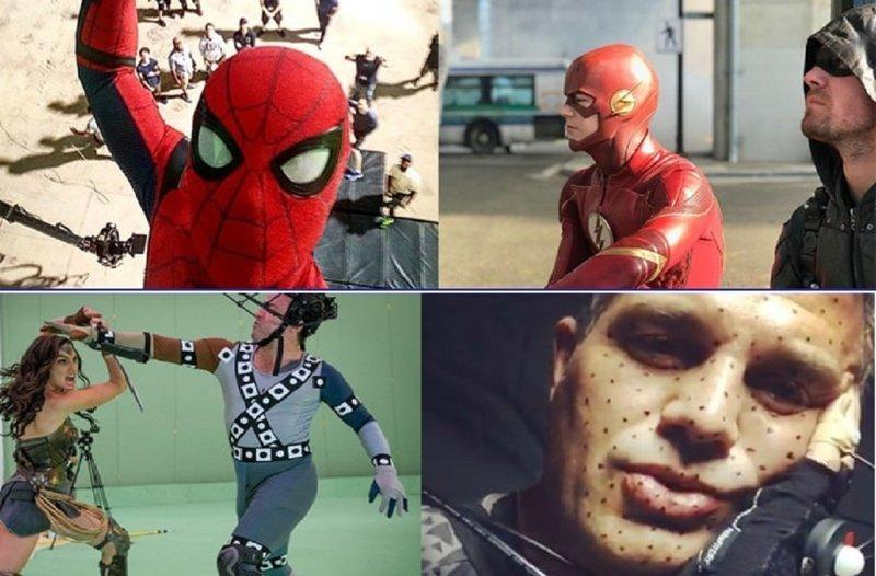 Супергерои на съемочной площадке: наша служба и опасна, и трудна Лучшая работа, актеры, знаменитости, интересно, кино, роли, супергерои, фото