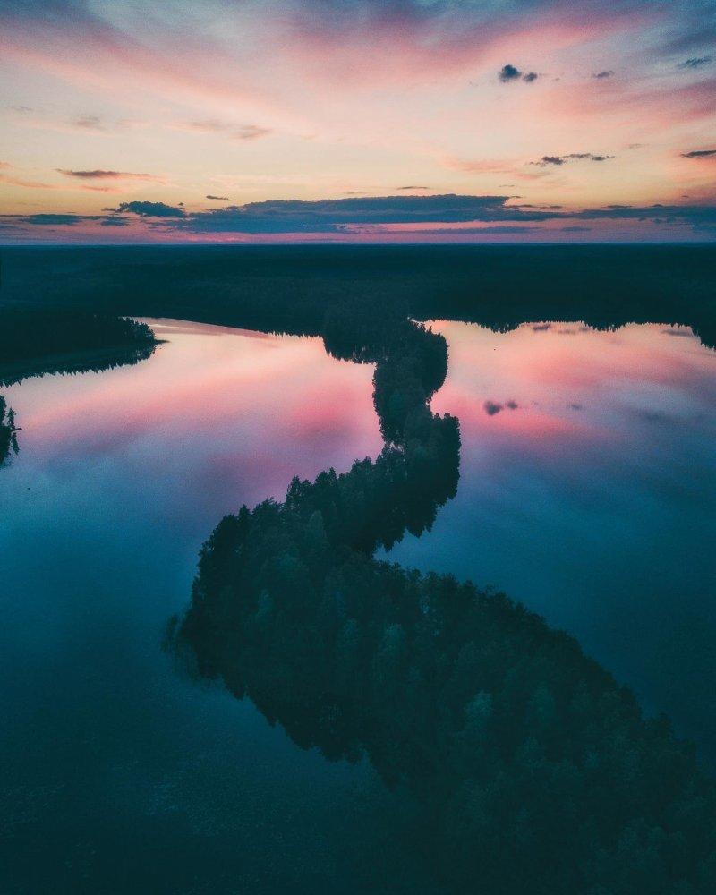 Национальный парк Лиесярви, Финляндия день, животные, кадр, люди, мир, снимок, фото, фотоподборка
