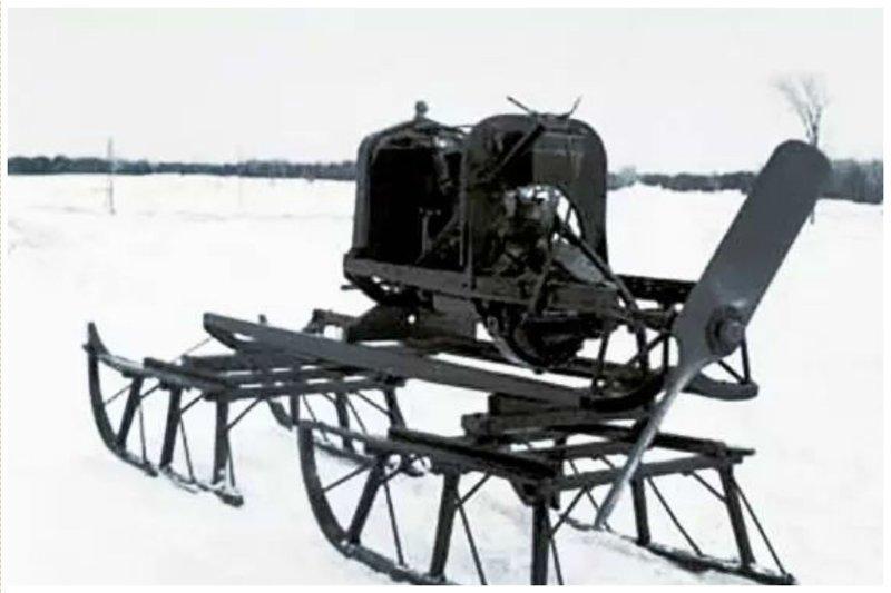 Снегоходные сани с пропеллером дети, изобретения, интересное, факты